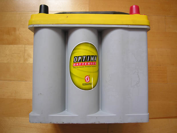 optima batteries yellow top 2 вид сбоку